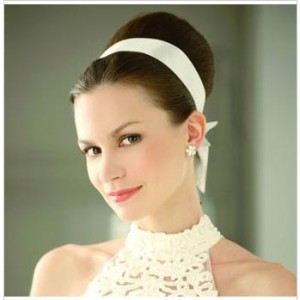 Steps on Making the Fabric Bun Wedding Hairstyle