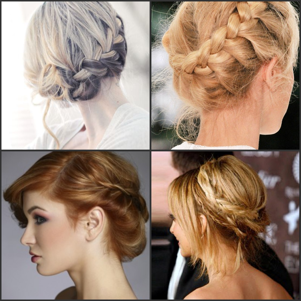stepstep guide to do the braided wedding hairstyle updo