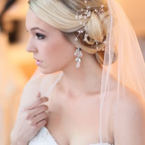 Different Glamorous Wedding Hairstyles