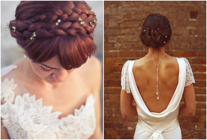 Go Easy With The Bohemian Vintage Wedding Hairstyle