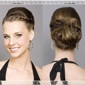 Incorporate a Braid in your Wedding Hairstyle Updo